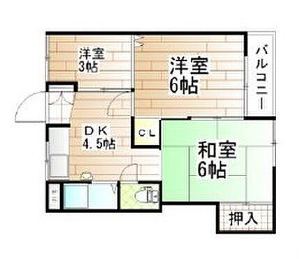 マンション(建物一部)-大阪市東淀川区豊里6丁目 間取り