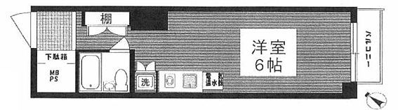 マンション(建物一部)-渋谷区代官山町 間取り