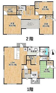 中古一戸建て-名古屋市守山区大森八龍1丁目 3帖の広々としたWICやSICなど、収納スペースが豊富な物件です。