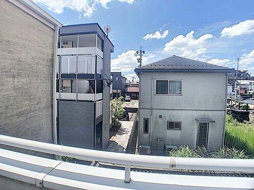 戸建賃貸-名古屋市西区清里町 まわりに高い建物がないため陽当たり良好です