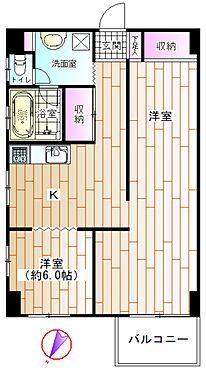 中古マンション-横浜市金沢区瀬戸 間取り