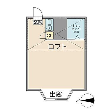 アパート-杉並区高円寺南3丁目 間取り