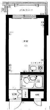 マンション(建物一部)-京都市東山区清水4丁目 単身者向けのシンプルな間取り