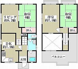 京阪本線 樟葉駅 バス13分 さくら小学校下車 徒歩6分