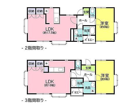 アパート-浜松市中区上島1丁目 間取り図