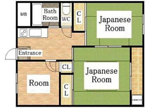 マンション(建物一部)-大阪市生野区巽北1丁目 収納スペースを豊富に設け、暮らしやすさに配慮したプラン