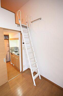 アパート-福岡市博多区堅粕4丁目 ロフト用梯子