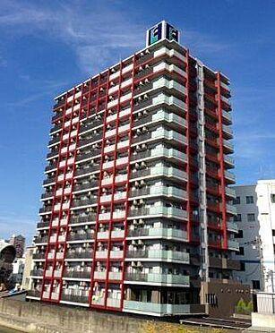 マンション(建物一部)-大阪市浪速区幸町3丁目 赤いラインがオシャレなデザイン