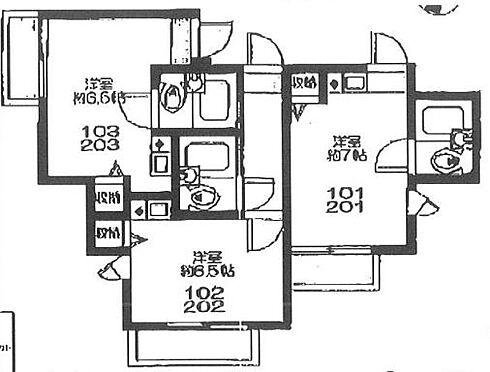 アパート-横浜市南区大岡4丁目 Lis上大岡・ライズプランニング