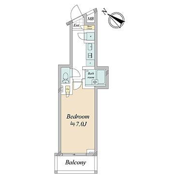 マンション(建物一部)-板橋区三園1丁目 間取図