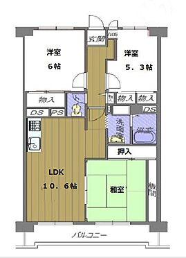 マンション(建物一部)-大阪市平野区加美南2丁目 ファミリーにオススメの3LDK