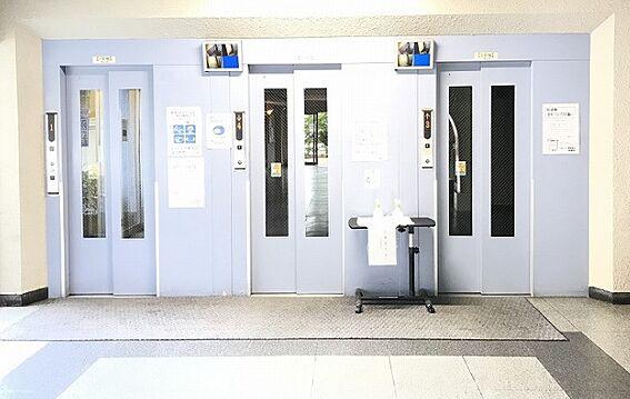 区分マンション-京都市山科区東野門口町 カメラ付きエレベーター複数基あり