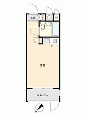 中古マンション-福岡市中央区大宮1丁目 間取り