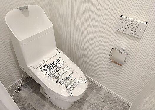 中古マンション-名古屋市守山区西城2丁目 トイレも新品に交換済です。