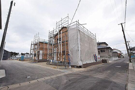 新築一戸建て-石巻市渡波字栄田 外観