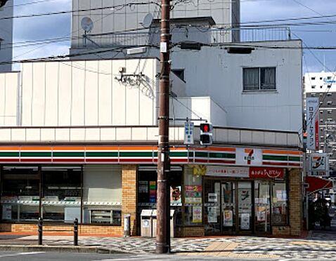 中古マンション-大阪市東成区玉津1丁目 セブンイレブン大阪中道3丁目店約300mです