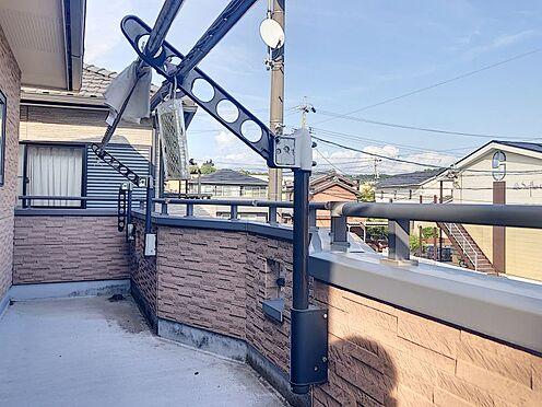 中古一戸建て-岡崎市上地2丁目 ゆとりのスペースが確保された南向きのバルコニー