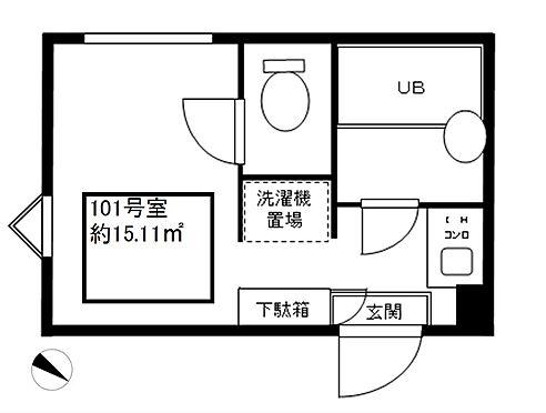 アパート-横浜市保土ケ谷区岩井町 101号室