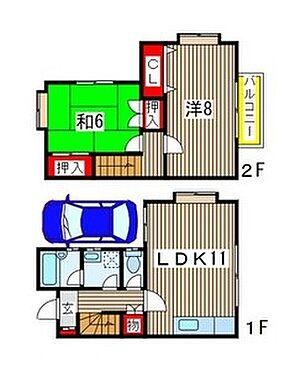 アパート-千葉市中央区都町 間取り