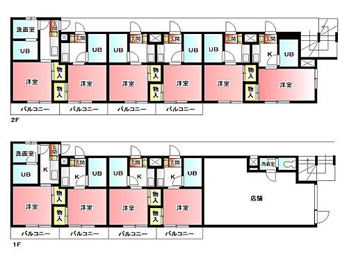 マンション(建物全部)-板橋区徳丸3丁目 間取り