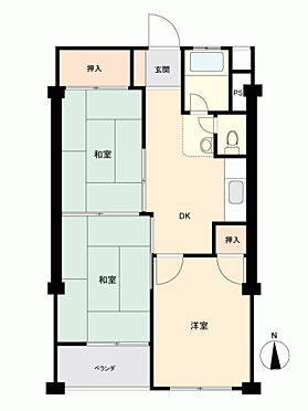 中古マンション-小金井市緑町5丁目 間取り