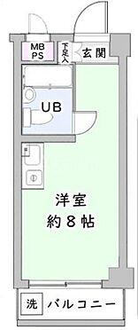区分マンション-文京区大塚6丁目 間取り