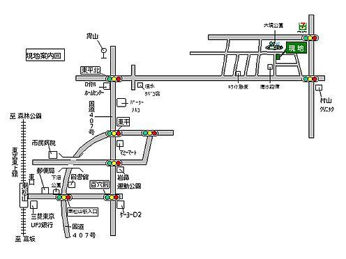 土地-熊谷市船木台1丁目 地図