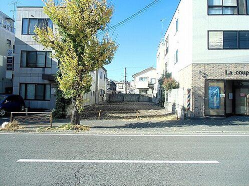 土地-京都市左京区浄土寺下馬場町 前面道路含む現地写真
