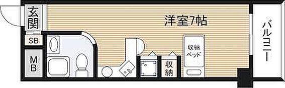 区分マンション-大阪市淀川区塚本1丁目 間取り