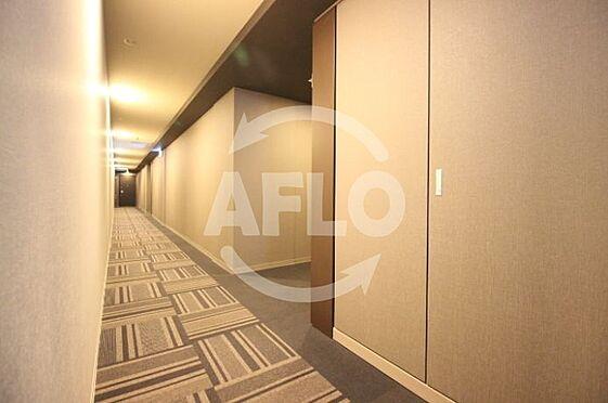 区分マンション-大阪市北区天神橋7丁目 ジオタワー天六 共用廊下は内廊下使用で高級感がございます