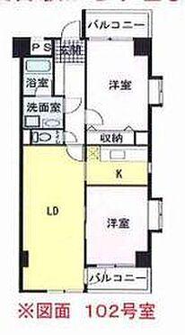 マンション(建物全部)-横浜市青葉区つつじが丘 間取り