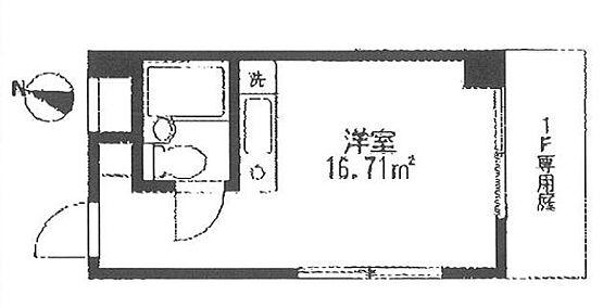 マンション(建物一部)-横浜市神奈川区高島台 間取り