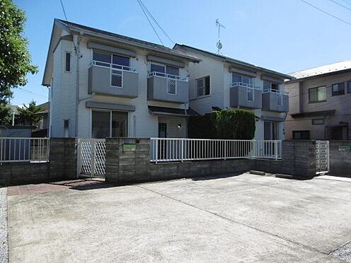 アパート-小金井市前原町2丁目 敷地面積108坪、建物面積50坪のゆとり