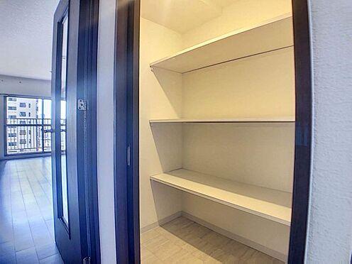区分マンション-名古屋市西区鳥見町3丁目 1.2帖の納戸は季節のものも収納可能でとても便利です!