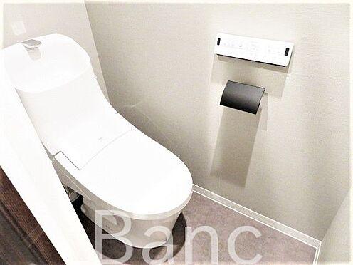 中古マンション-港区赤坂1丁目 綺麗な高機能トイレです。
