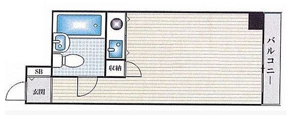 マンション(建物一部)-大阪市西淀川区野里1丁目 シンプルな1R