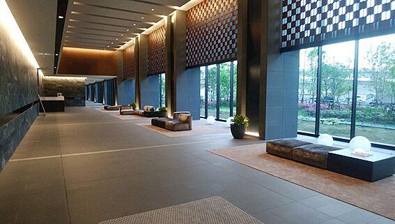 中古マンション-江東区有明2丁目 セントラルタワー1階メインエントランスラウンジ