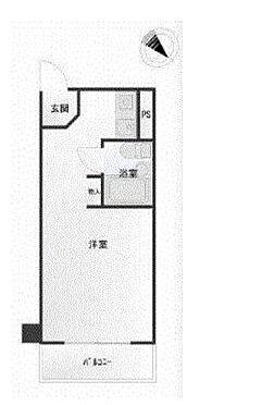 マンション(建物一部)-横浜市神奈川区子安通3丁目 間取り