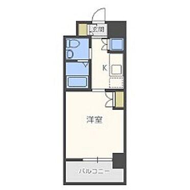 マンション(建物一部)-大阪市西区南堀江4丁目 使い勝手の良いアメリカンセパレート