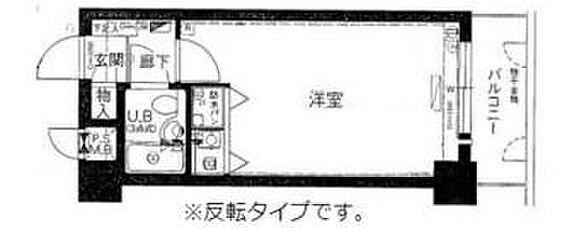 区分マンション-大阪市天王寺区石ケ辻町 間取り