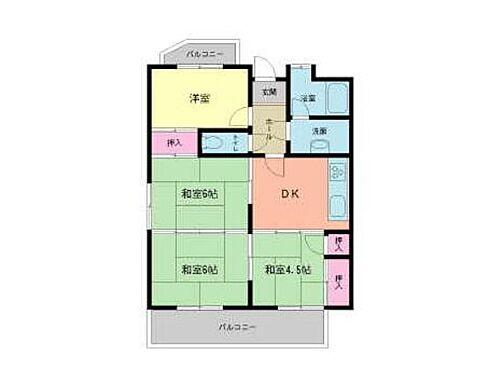 マンション(建物一部)-北九州市小倉北区中井5丁目 間取り
