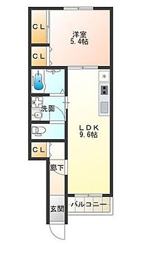 アパート-大阪市西成区天下茶屋東1丁目 間取り