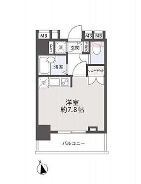 中古マンション-新宿区原町3丁目 間取り図