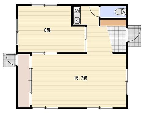 アパート-静岡市駿河区丸子 間取り