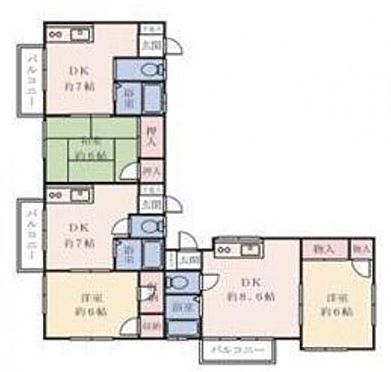 アパート-横須賀市野比2丁目 プラージュ野比海岸・ライズプランニング