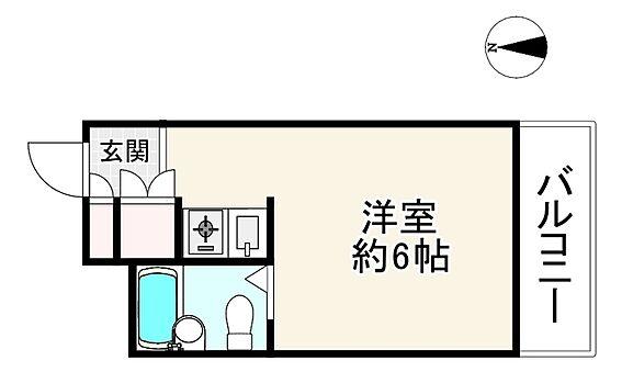 中古マンション-大阪市生野区勝山南4丁目 間取り