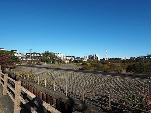 土地-船橋市夏見台3丁目 長津川公園まで約220m