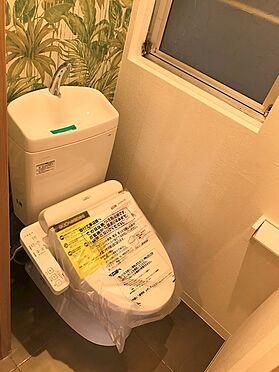 中古マンション-草加市稲荷6丁目 ウォッシュレット付きトイレです