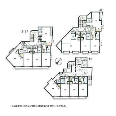 マンション(建物全部)-世田谷区砧5丁目 間取り