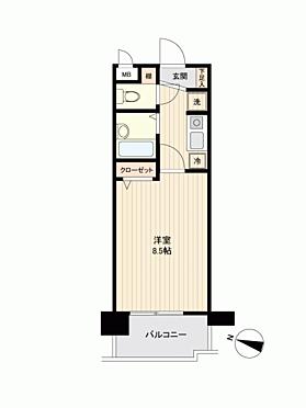 マンション(建物一部)-福岡市博多区博多駅前3丁目 間取り